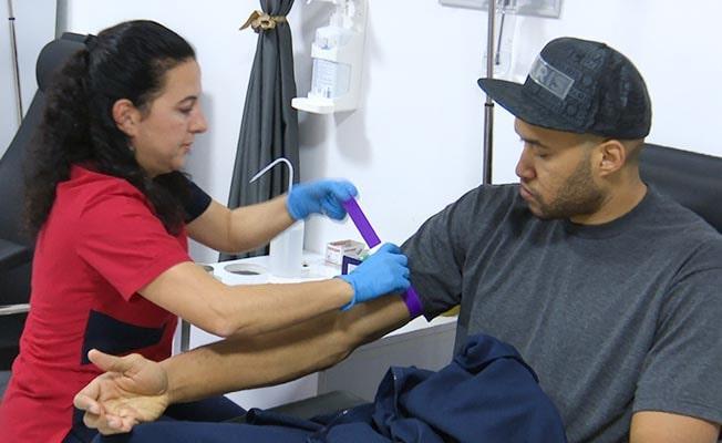Yeni transfer Jordan sağlık kontrolünden geçti