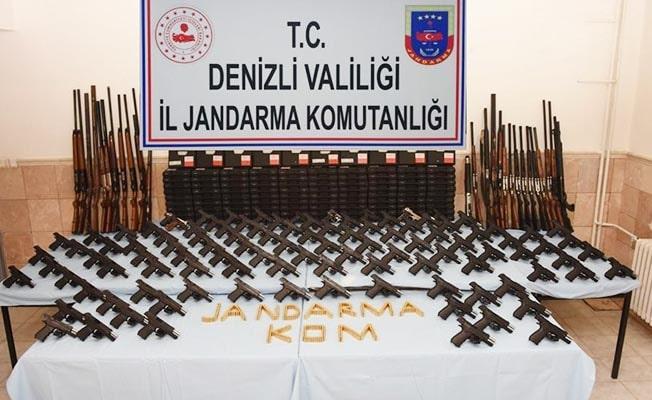 Bozkurt'ta silah kaçaklığı operasyonu
