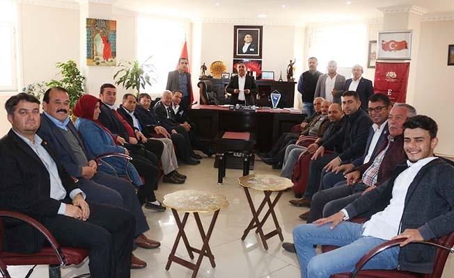 Çal'da muhtarlara belediye yönetiminde aktif görev