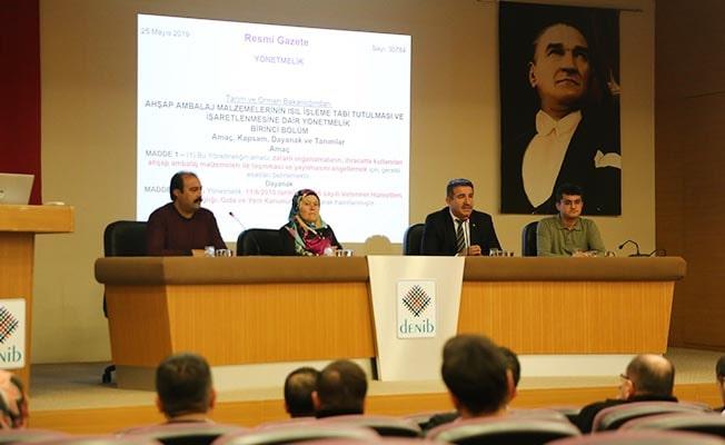 DENİB'de ISPM-15 Uygulamaları toplantısı
