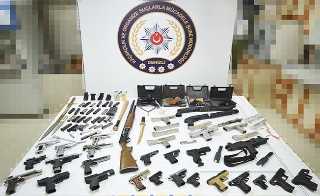 Denizli'de silah kaçakçılığına 1 tutuklama