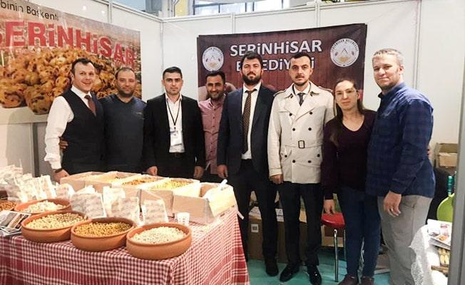 Denizli leblebisi Ankara'da tanıtıldı