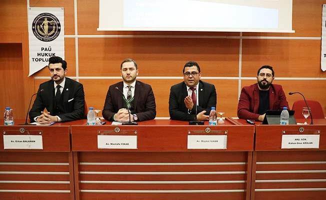 PAÜ'de 'İnsan Hakları: Güncel Sorunlar' konuşuldu