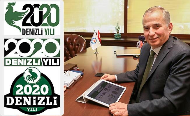2020 Denizli Yılı logosu için ilk oy Başkan Zolan'dan