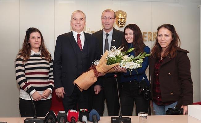 Başkan Zolan'dan Gazeteciler Cemiyeti'ne ziyaret