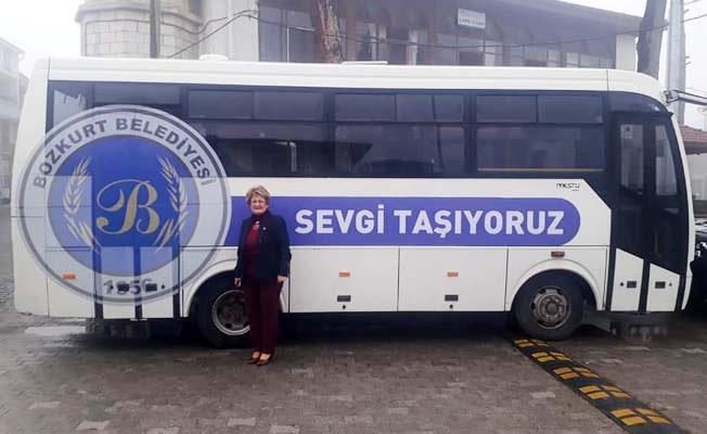 Bozkurt'a Muğla'dan midibüs desteği