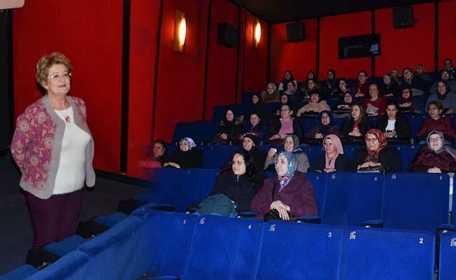 Bozkurt'lu kadınların sinema keyfi