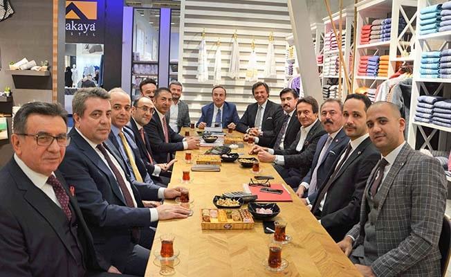 DTO Başkanı Erdoğan: Denizli, Heımtextıl 2020'nin parlayan yıldızı oldu