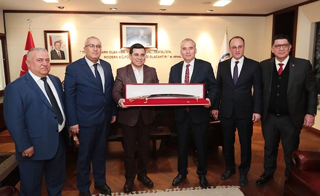 Akdeniz Belediyeler Birliği'nden Başkan Zolan'a ziyaret