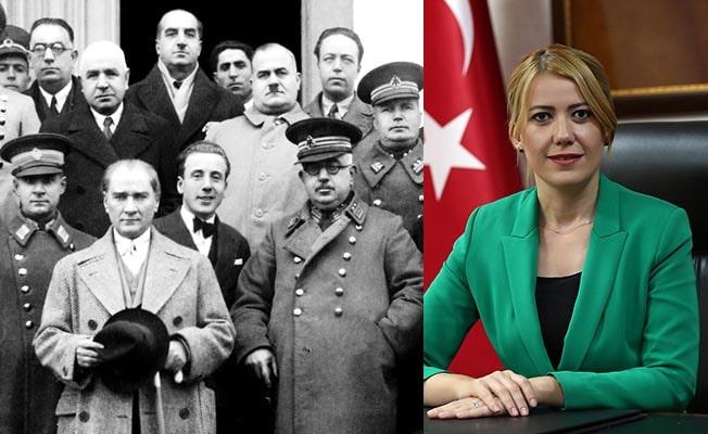 Başkan Doğan Atatürk'ün denizli'ye gelişinin 89. Yıl dönümünü kutladı