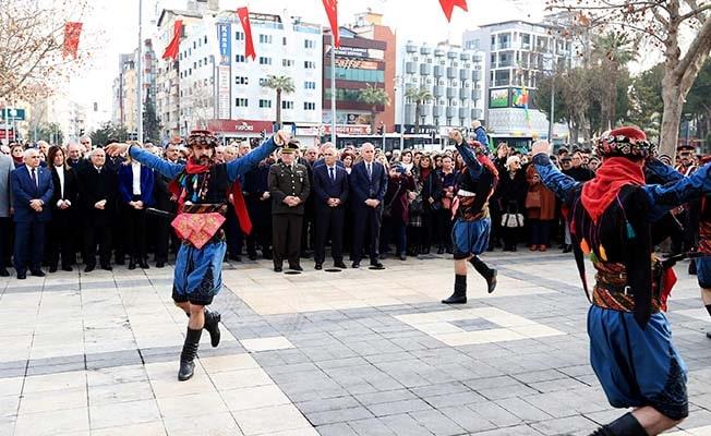 Büyük Önder Atatürk'ün Denizli'ye gelişinin 89. yılı anıldı