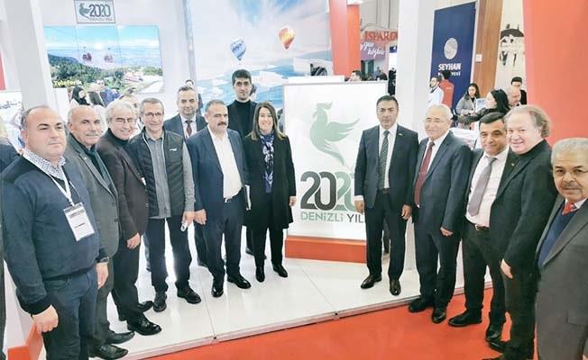 EMITT 2020 Turizm Fuarı'nda, Denizli'ye İlgi Büyüktü