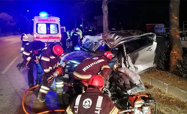 Otomobil takla attı: 1 ölü, 5 yaralı