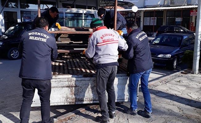Bozkurt'ta da banklar toplandı