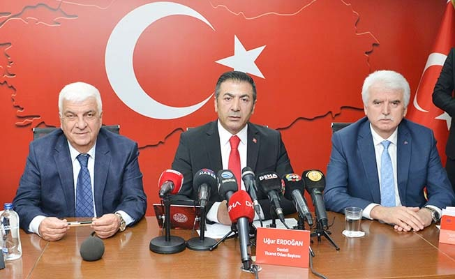 """DTO Başkanı Erdoğan: """"Ordumuz varsa bizde varız"""""""