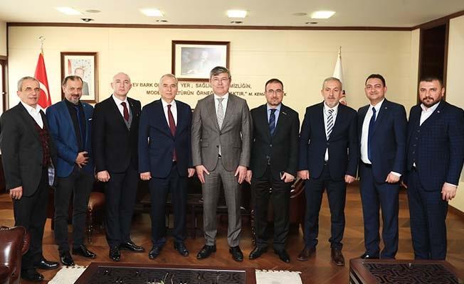 Kazakistan Büyükelçisi'nden Başkan Zolan'a ziyaret
