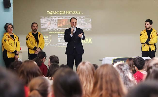 Pamukkale Belediyesi'nden Deprem Eğitimi