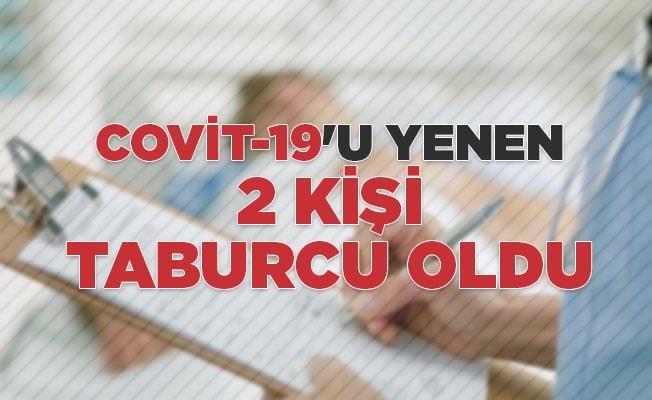 Covit-19'u yenen 2 kişi taburcu oldu