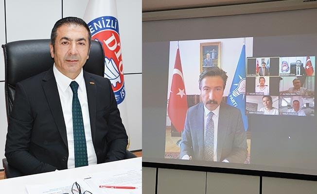DTO Başkanı Erdoğan üyelerinin isteklerini, Grup Başkan Vekili Özkan'a aktardı