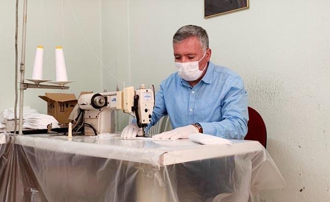 Honaz Belediyesi maske üretiyor