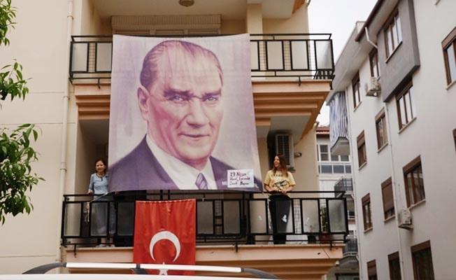 Sarayköy'de Atatürk'ün sesi yankılandı