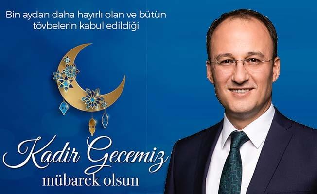 Başkan Örki'den Kadir Gecesi mesajı