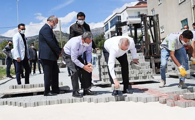 Başkan Zolan, Çardak'ta Büyükşehir yatırımlarını inceledi