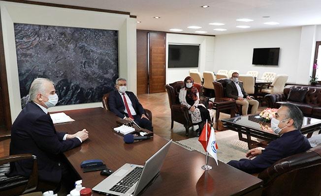 Hak-İş'ten Başkan Zolan'a 1 Mayıs ziyareti
