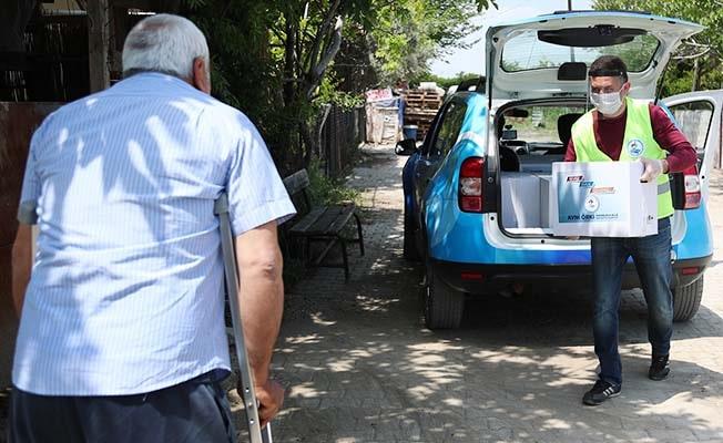 Pamukkale Belediyesi'nden ihtiyaç sahiplerine Ramazan paketi