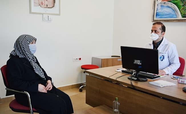 17 yıldır devam eden rahatsızlığı PAÜ Hastanesinde tedavi edildi