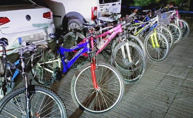 2 bisiklet hırsızı yakalandı