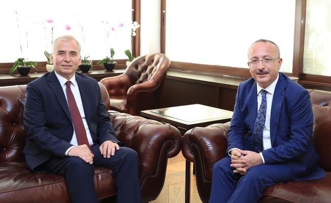 Vali Atik'ten Başkan Zolan'a ziyaret