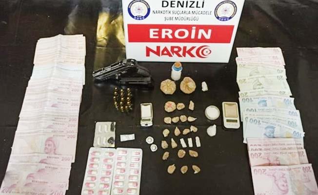 Denizli'de uyuşturucuya 22 tutuklama