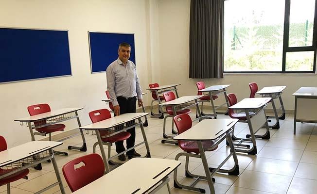 Denizli Çözüm Koleji sınıflara sosyal ayar getirdi