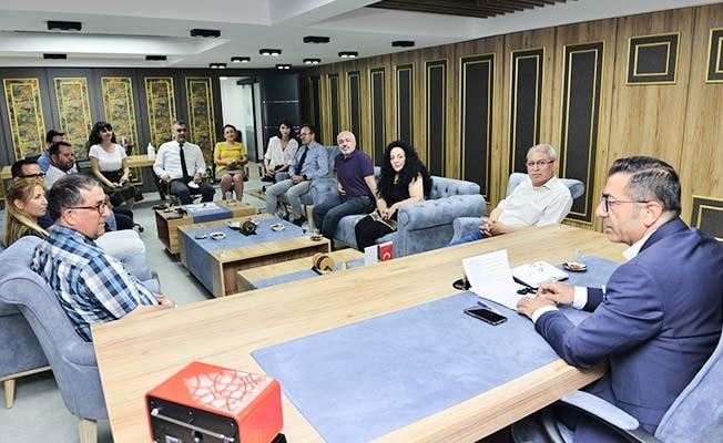 DGC ve YENİMEDYADER Yönetimleri, DTO'yu ziyaret etti