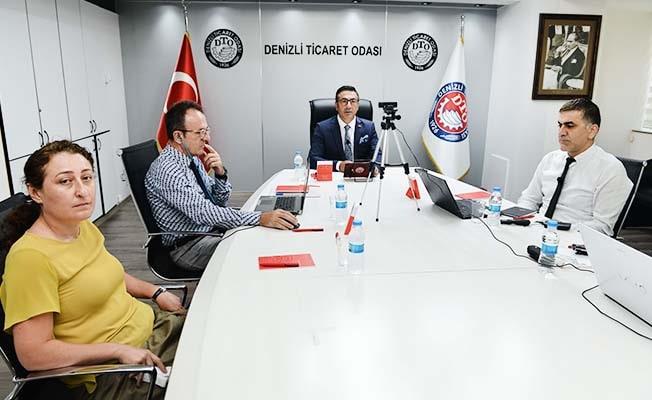 """DTO Başkanı Erdoğan: """"Projemiz, Denizli sanayisine çağ atlatacak"""""""