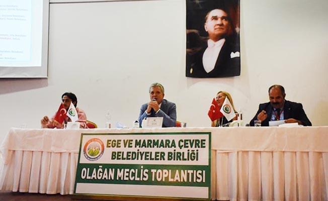 Babadağ Belediyesi Ege ve Marmara Çevre Belediyeler Birliği üyesi oldu