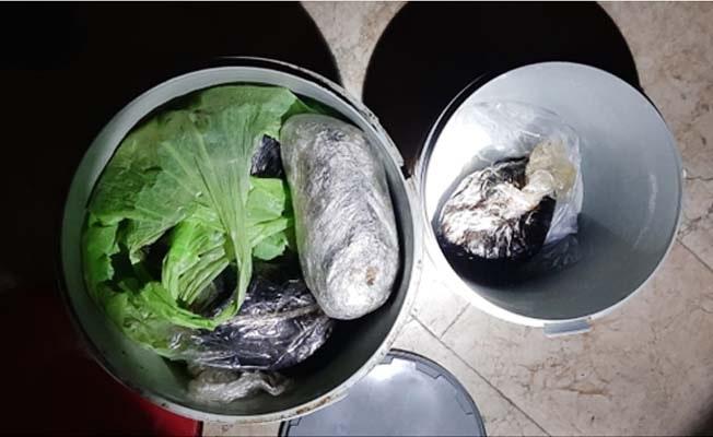 İş yeri deposunda 12 kilo 800 gram Afyon Sakızı ele geçirildi