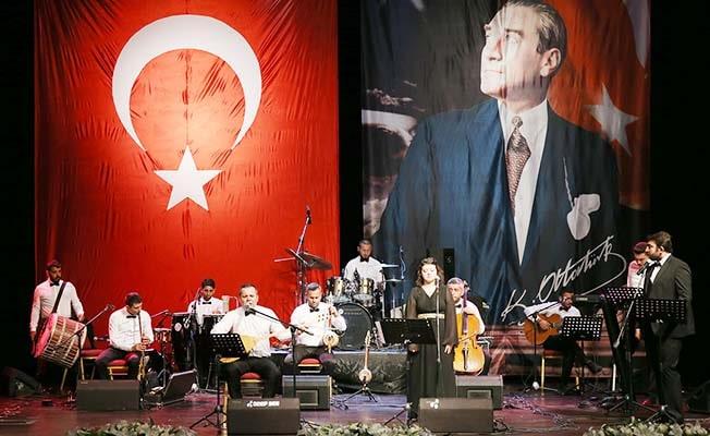 Merkezefendi'de 30 Ağustos Zafer Bayramı'na özel konser