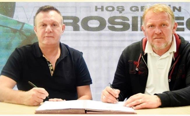 Prosinecki imzayı attı