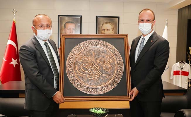 Başkan Örki, Vali Atik'i ağırladı