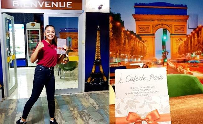 Cafe De Paris açıldı