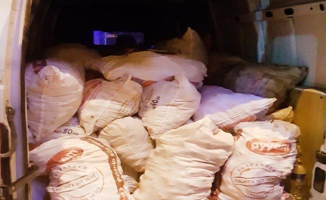 Çiftçinin 2,5 ton biberini çaldı, Jandarmadan kaçamadı