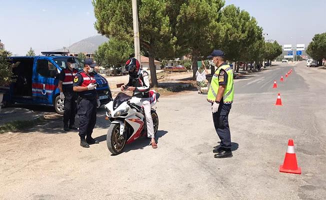 Jandarma'dan motosikletlere yönelik özel denetim