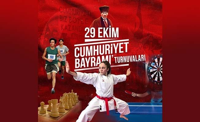 Cumhuriyet Coşkusu Denizli'de turnuvalarla kutlanacak