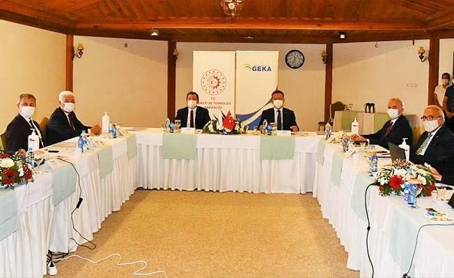 GEKA Yönetimi Muğla'da toplandı