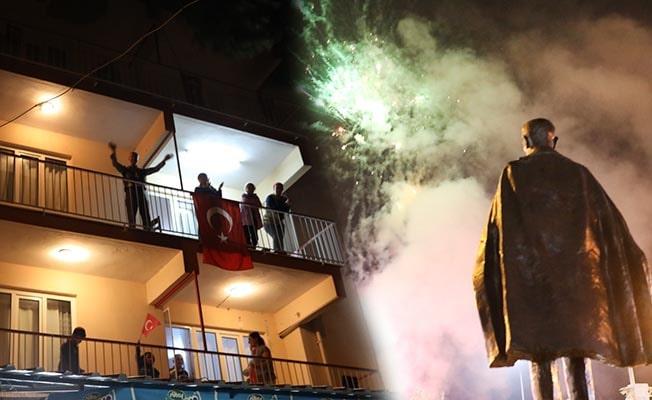 Sarayköy'de Cumhuriyet Bayramı görsel şölenle kutlandı