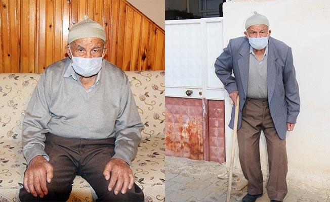 93 yaşındaki Nuri dede koronayı yendi