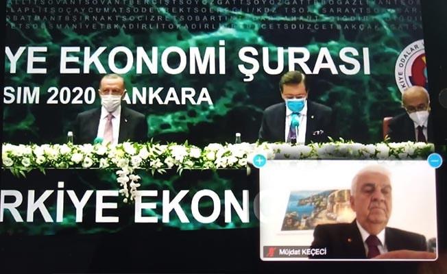 DSO Başkanı Keçeci TOBB Türkiye Ekonomi Şurası'na katıldı