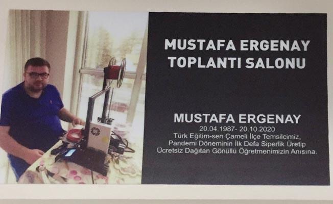TES'den koronavirüs nedeniyle yaşamını yitiren Mustafa öğretmene vefa